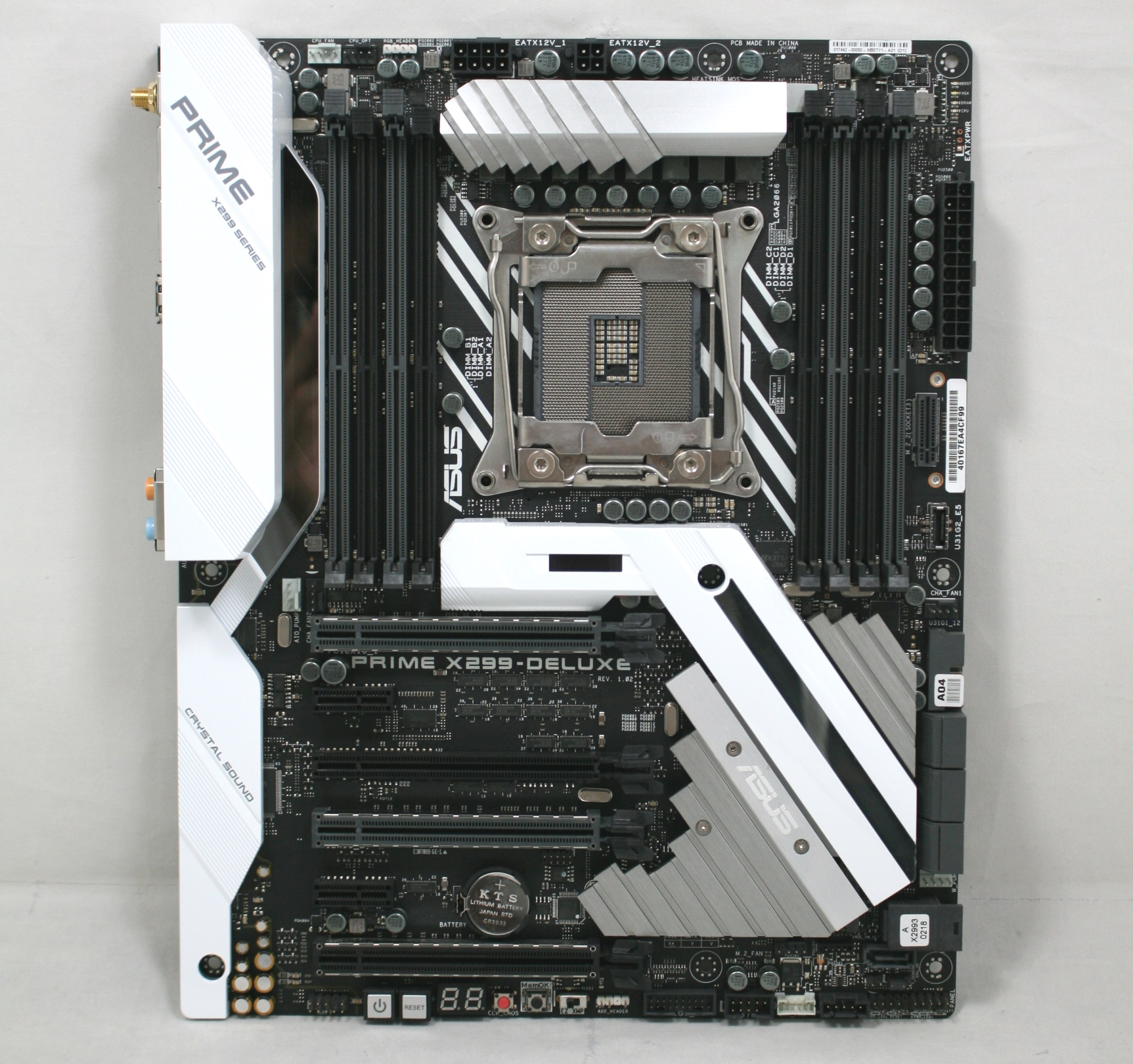 Visual Inspection - The ASUS Prime X299-Deluxe Motherboard Review