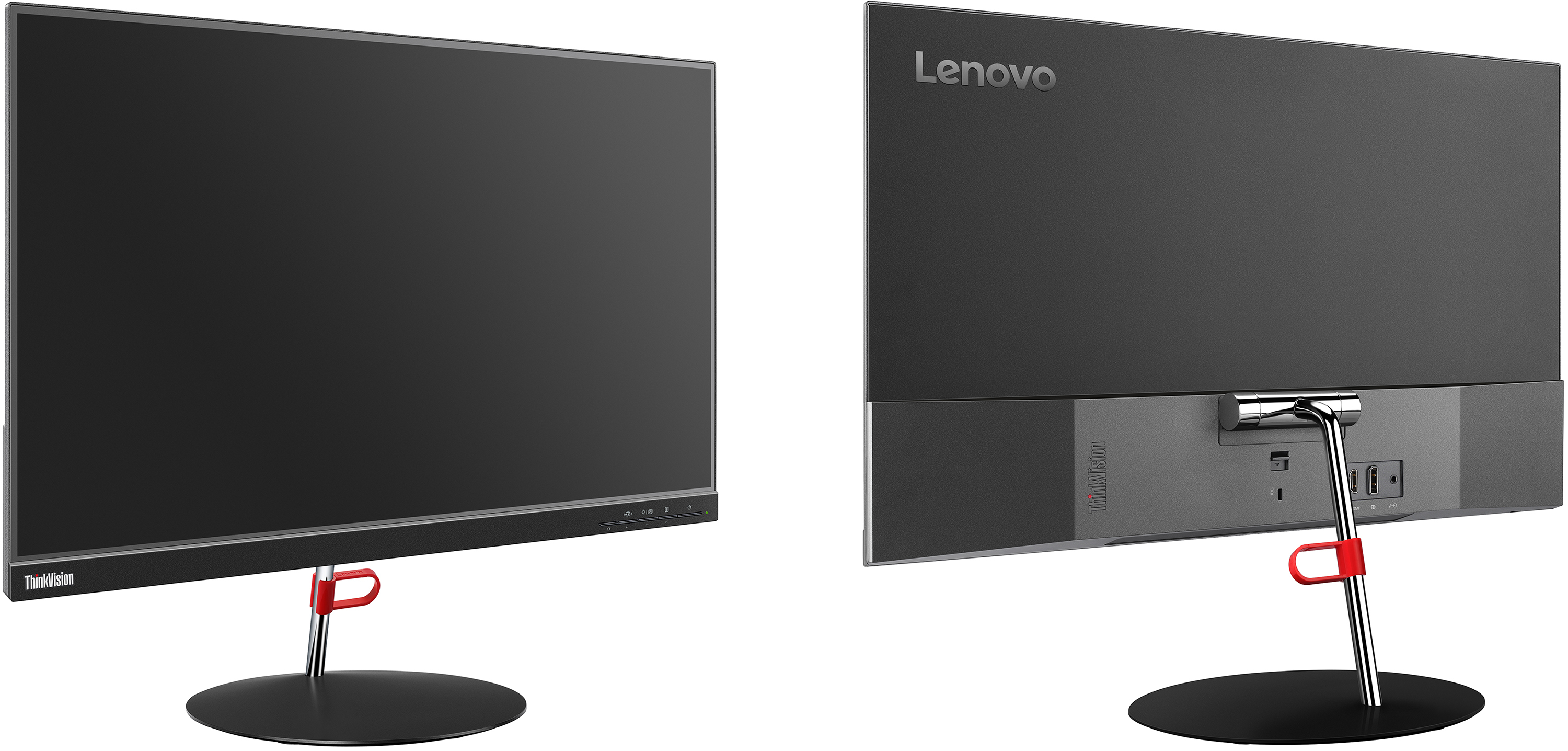 Lenovo Unveils New ThinkVision X24 LCD: 4-mm Thick, Ultra