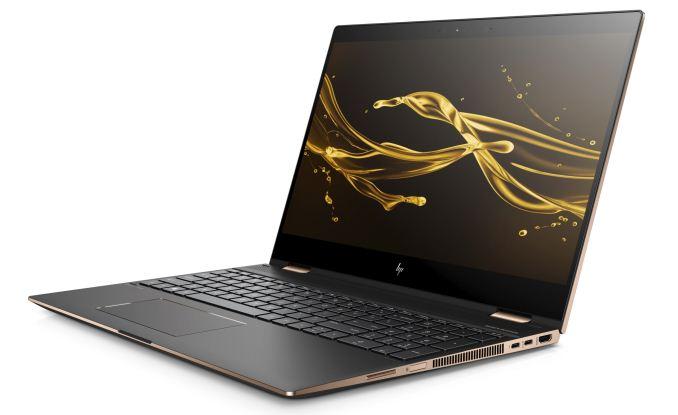 HP Spectre 15 X360 - Intel, Radeon Vega M, 80 000 рублей