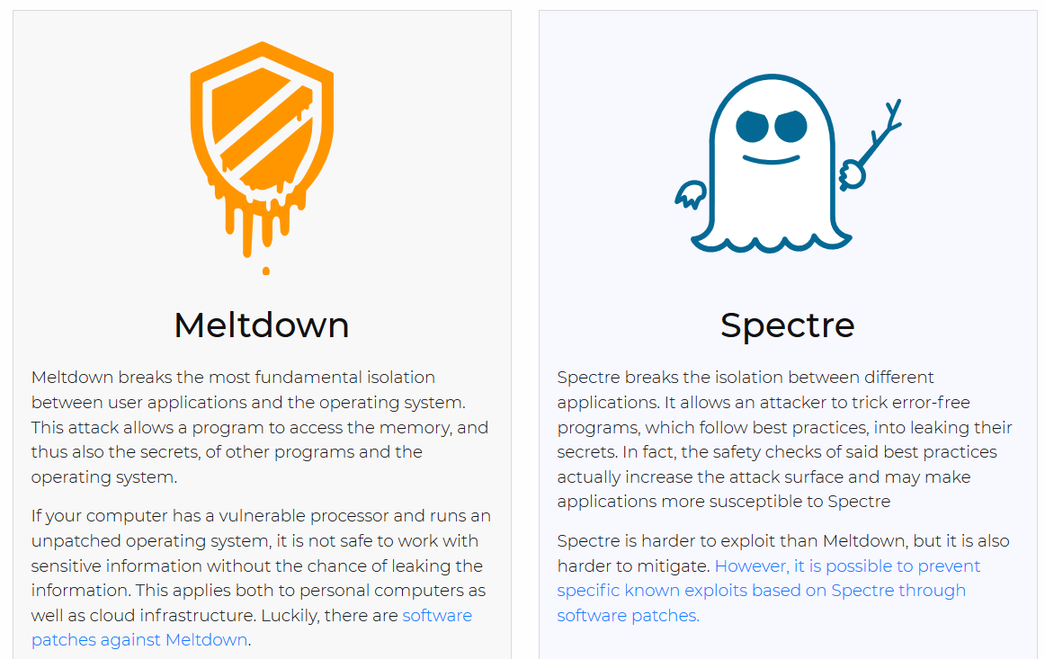 Understanding Meltdown & Spectre: What To Know About New