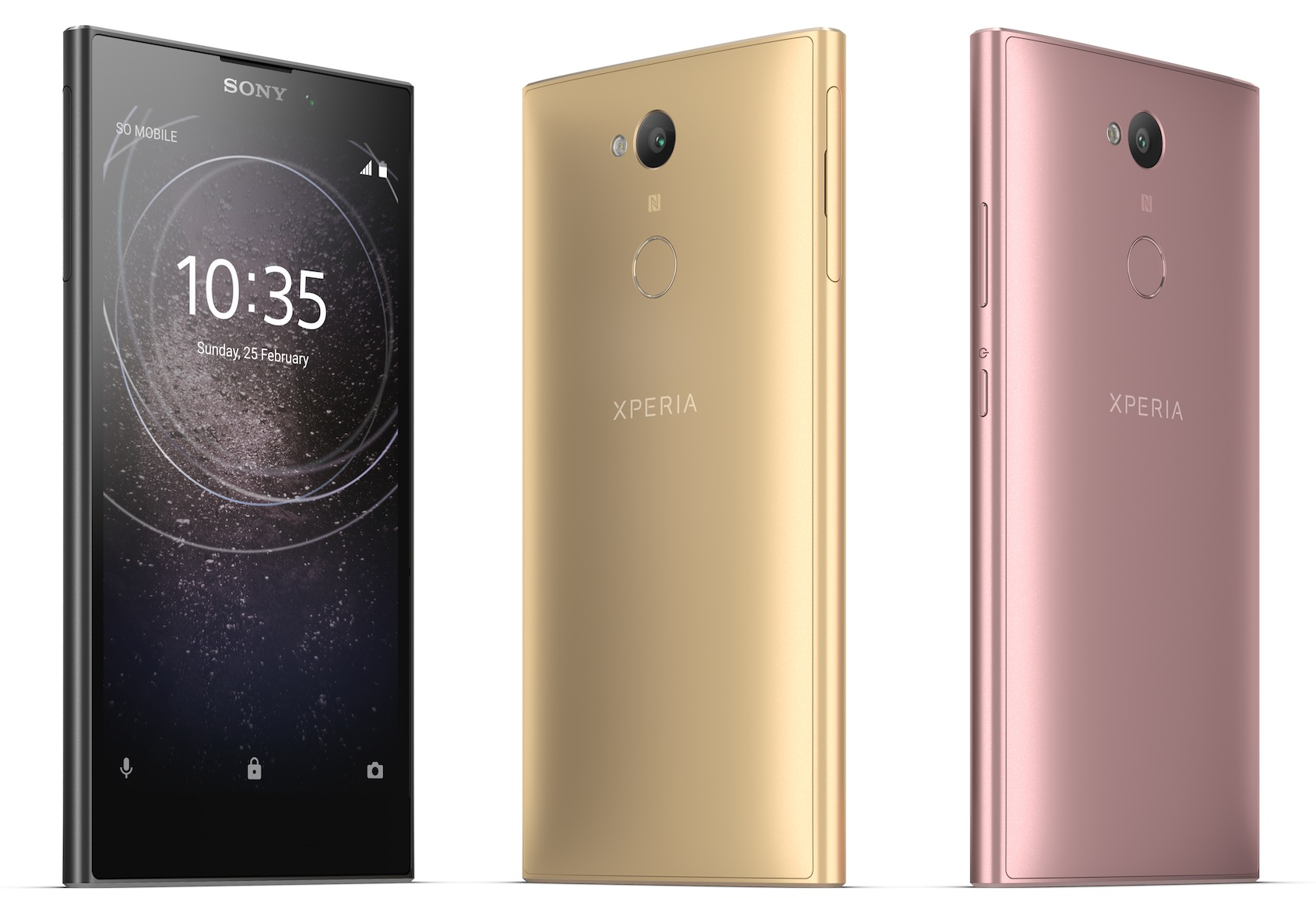 sony unveils xperia xa2 xperia xa2 ultra and xperia l2. Black Bedroom Furniture Sets. Home Design Ideas