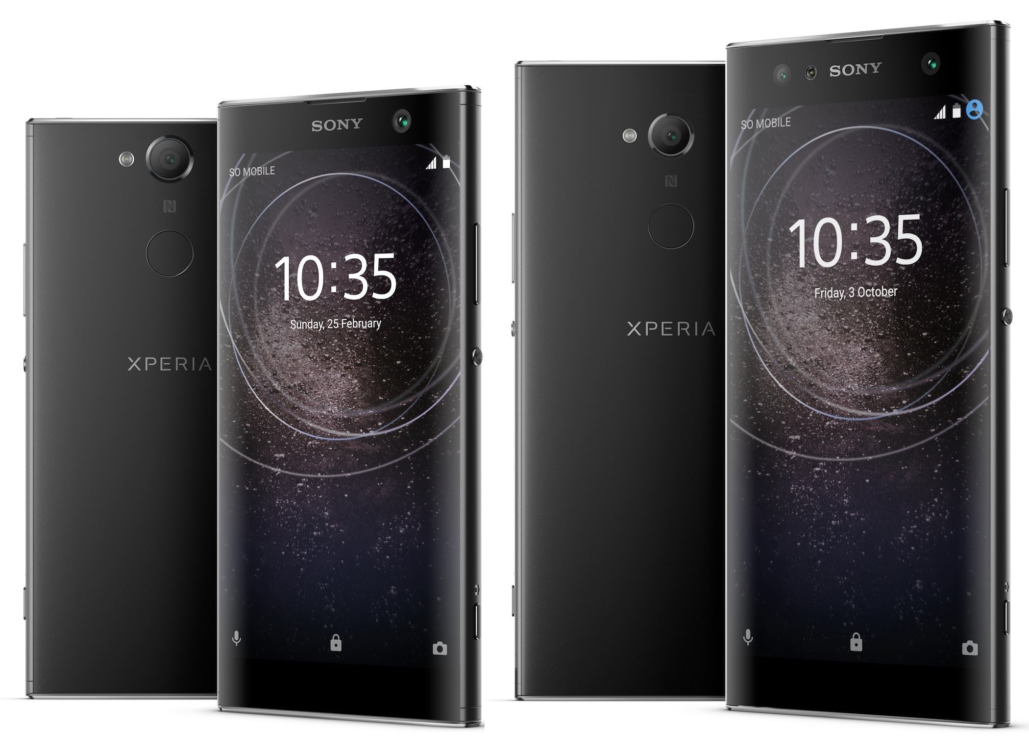 Sony Mobiles unveil Xperia XA2, XA2 Ultra and L2 at CES 2018