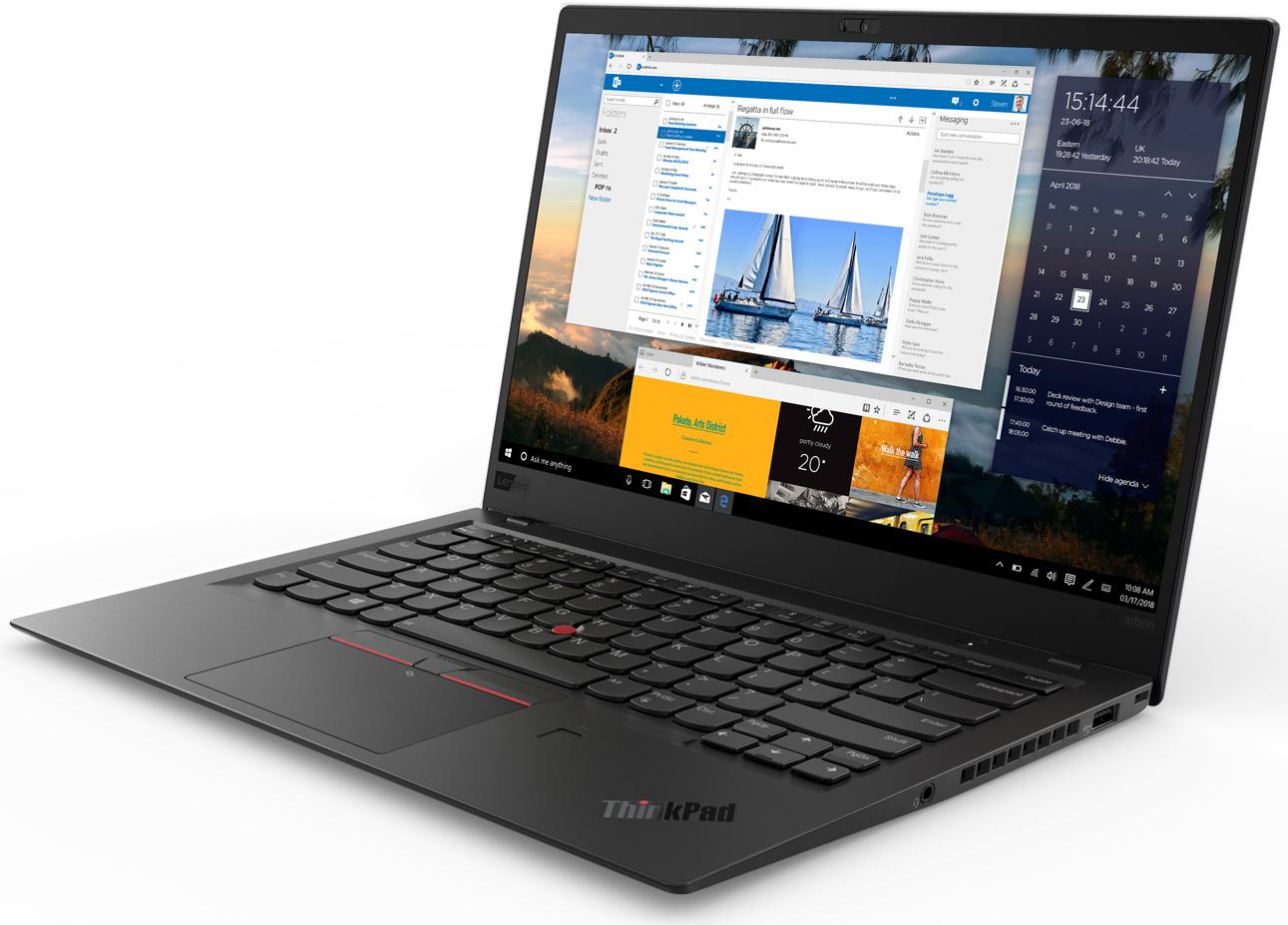 Lenovo Unveils New ThinkPad X1 Carbon, X1 Yoga Laptops: 8th Gen Core