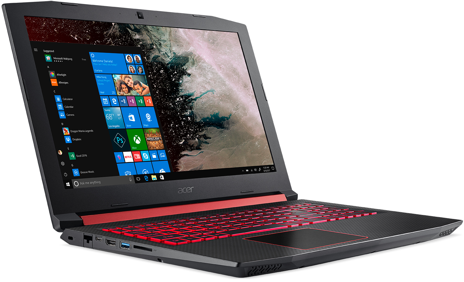 Acer Unveils Nitro 5 15 6 Inch Gaming Laptop With Amd Ryzen Mobile Radeon Rx560