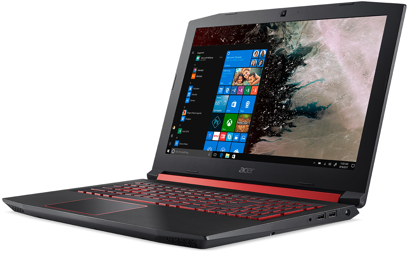 Acer Unveils Nitro 5: 15 6-inch Gaming Laptop with AMD Ryzen Mobile