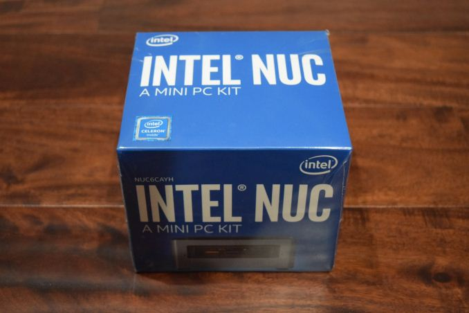 Intel NUC6CAYH (Arches Canyon) Apollo Lake UCFF PC Review