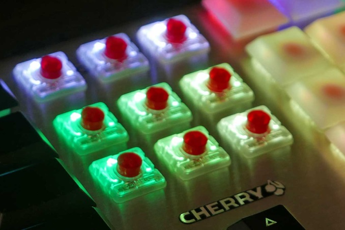 Cherry Introduces New Low Profile RGB Switches at CES 2018