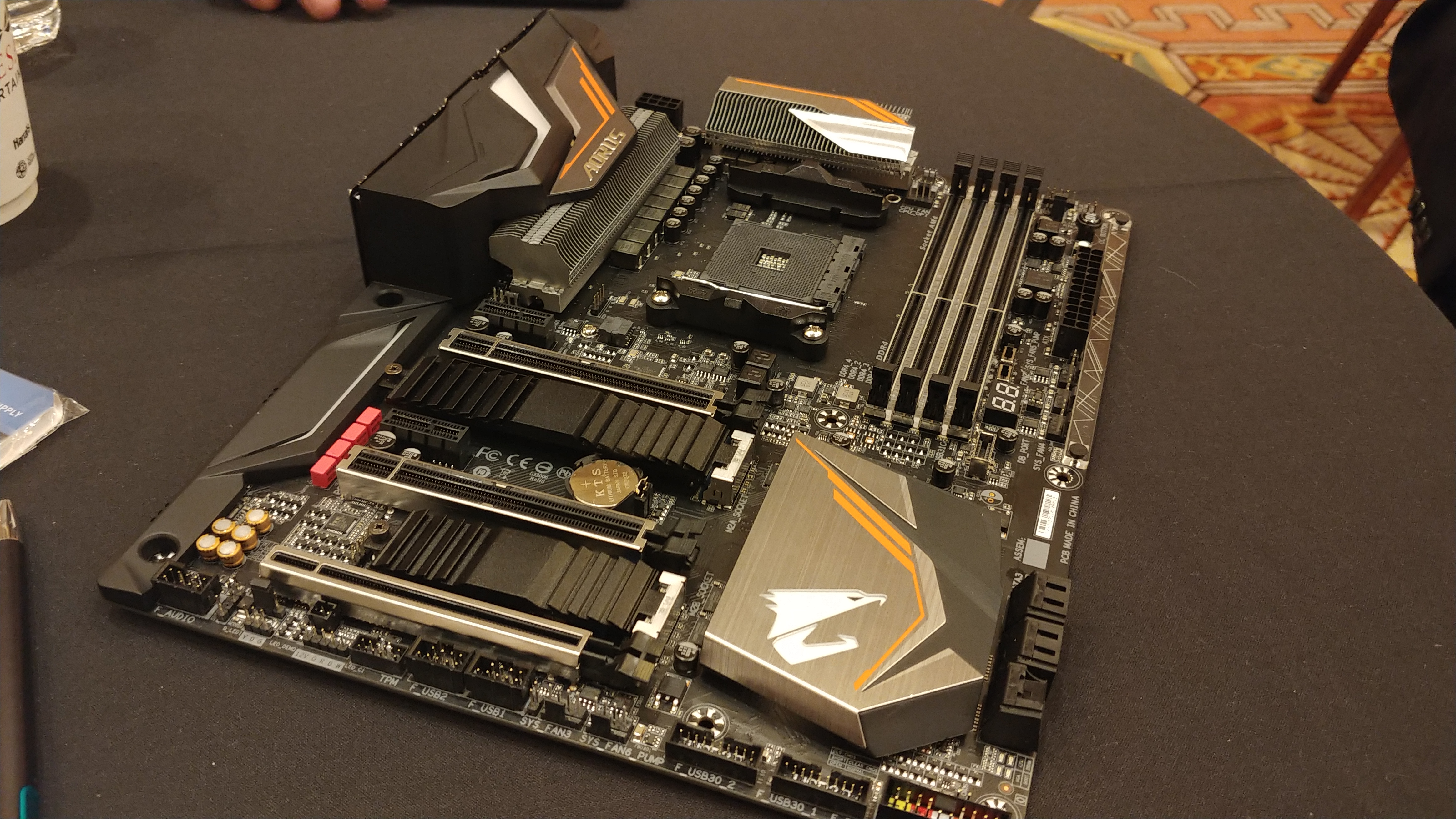 GIGABYTE at CES 2018: A First Look at X470