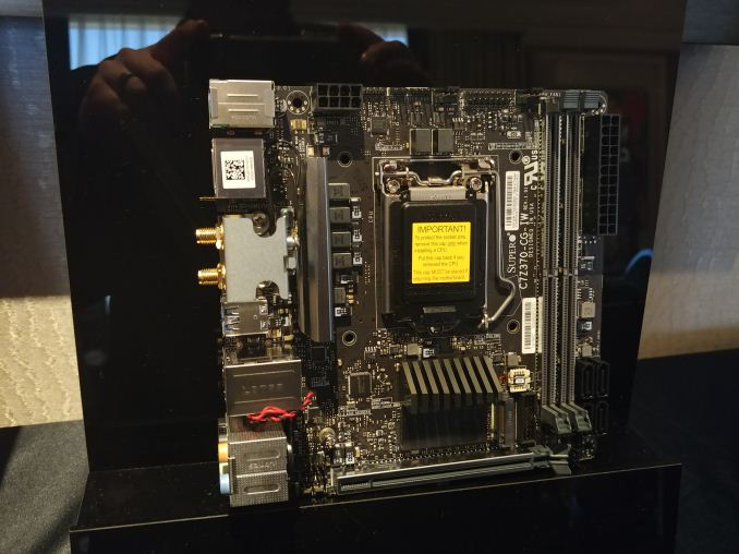 Supermicro at CES 2018: The First Supero Mini-ITX Motherboard