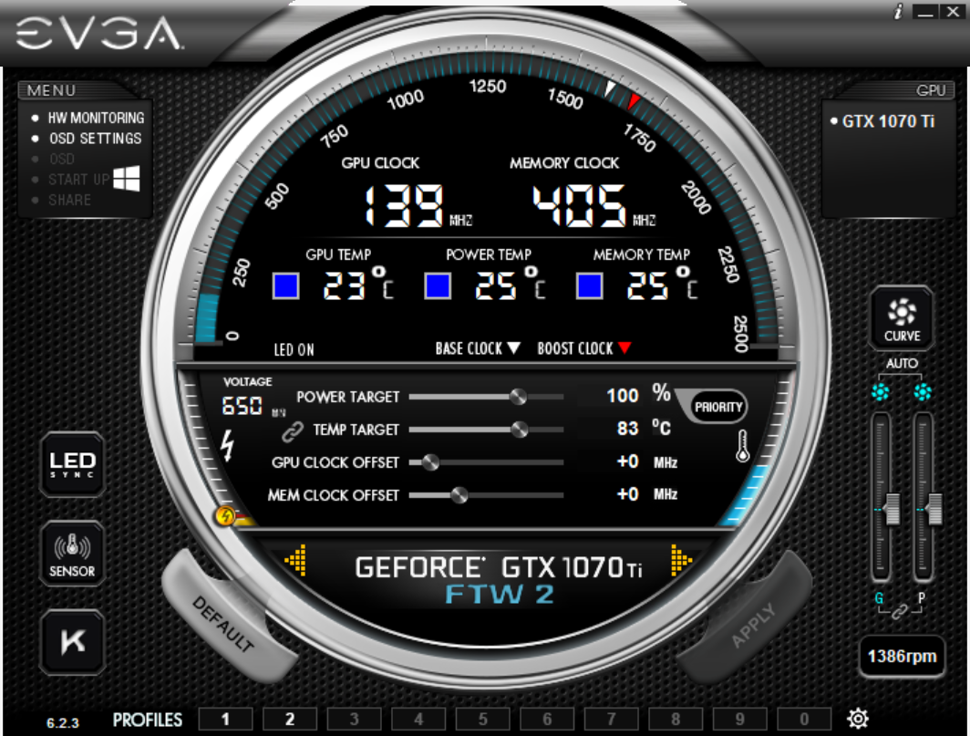 Meet The EVGA GTX 1070 Ti FTW2: Precision XOC - The EVGA