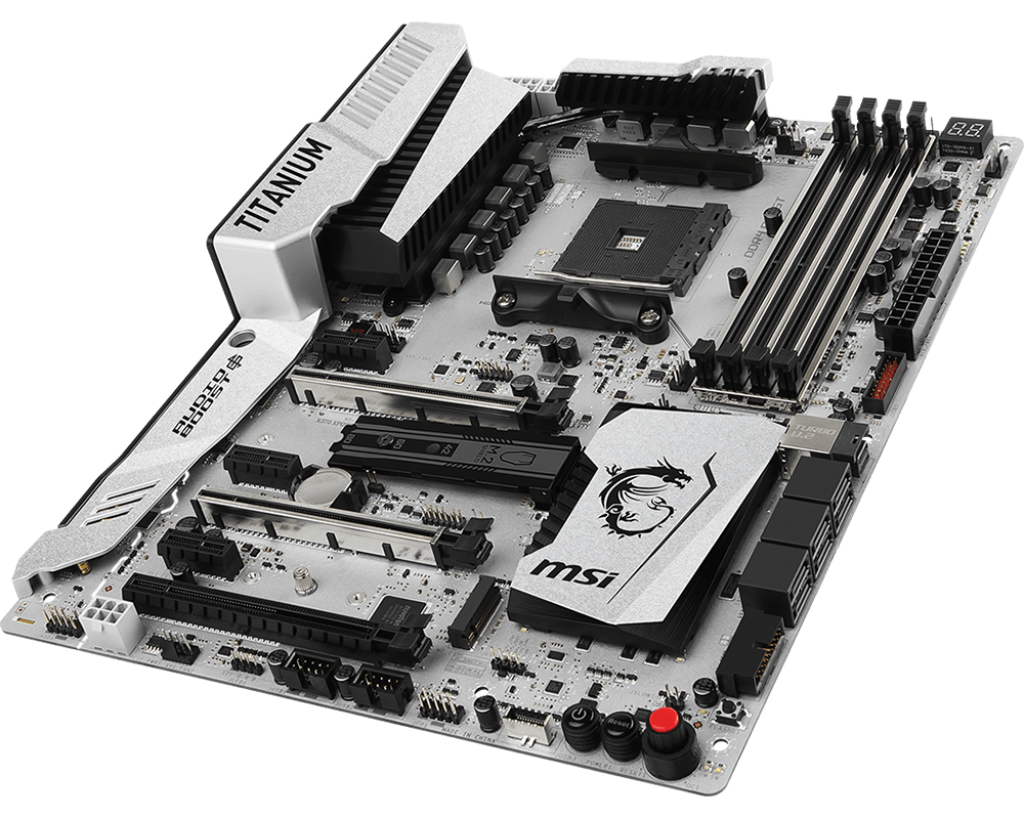 The Msi X370 Xpower Gaming Titanium Motherboard Review A Silver