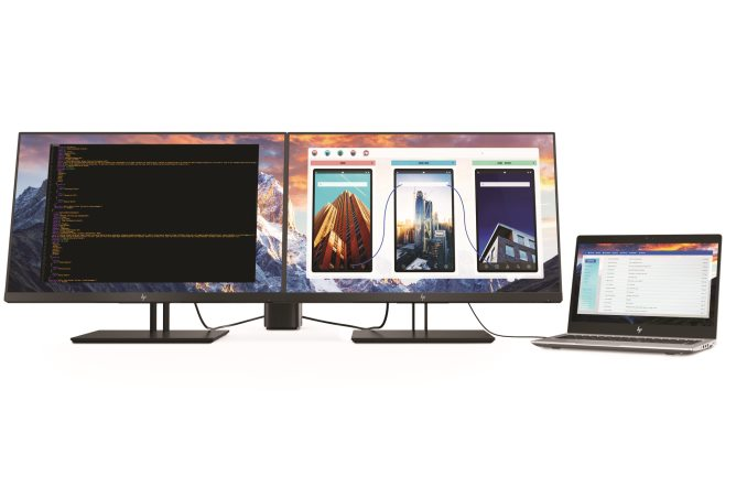HP also unveils new 4K/UHD IPS monitors