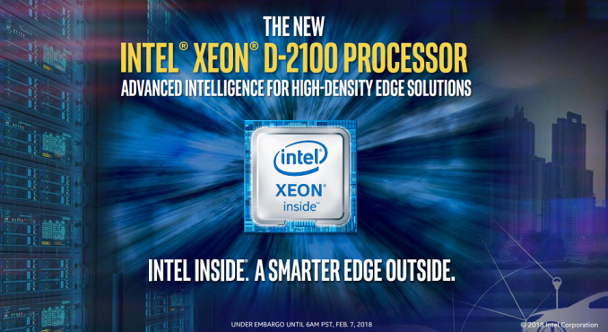 Living On The Edge: Intel Launches Xeon D-2100 Series SoCs