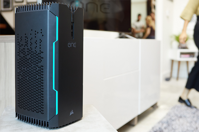 Corsair ONE Gets Caffeinated: Now with Coffee Lake