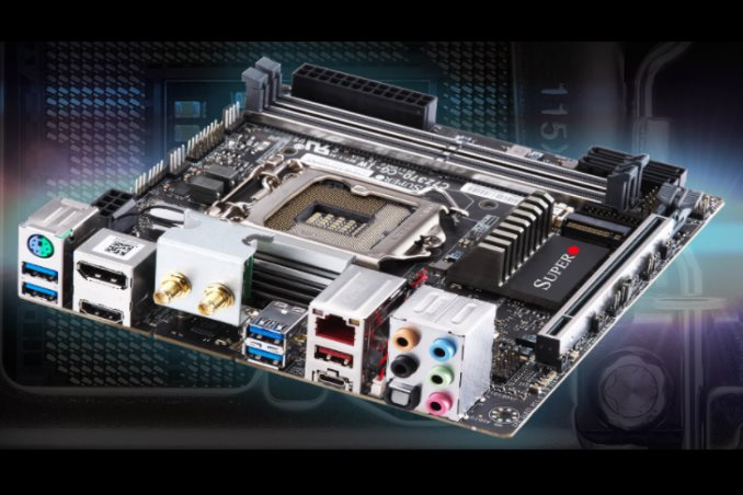 The Supermicro C7Z370-CG-IW Motherboard Review: SM's First Mini-ITX Gaming Board