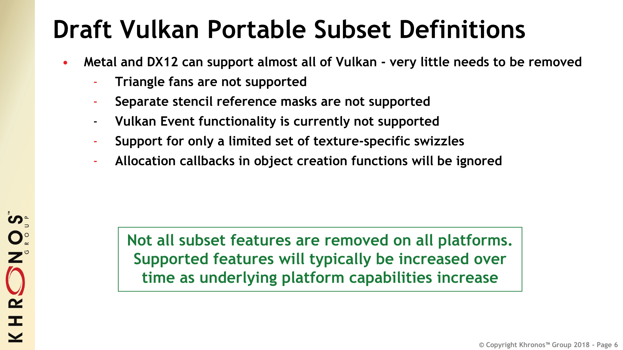 Bringing Vulkan to Apple's Platforms: Khronos Group Announces Open
