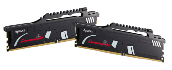 Apacer Adds DDR4-3600 CL17 and DDR4 3466 CL16 Memory to