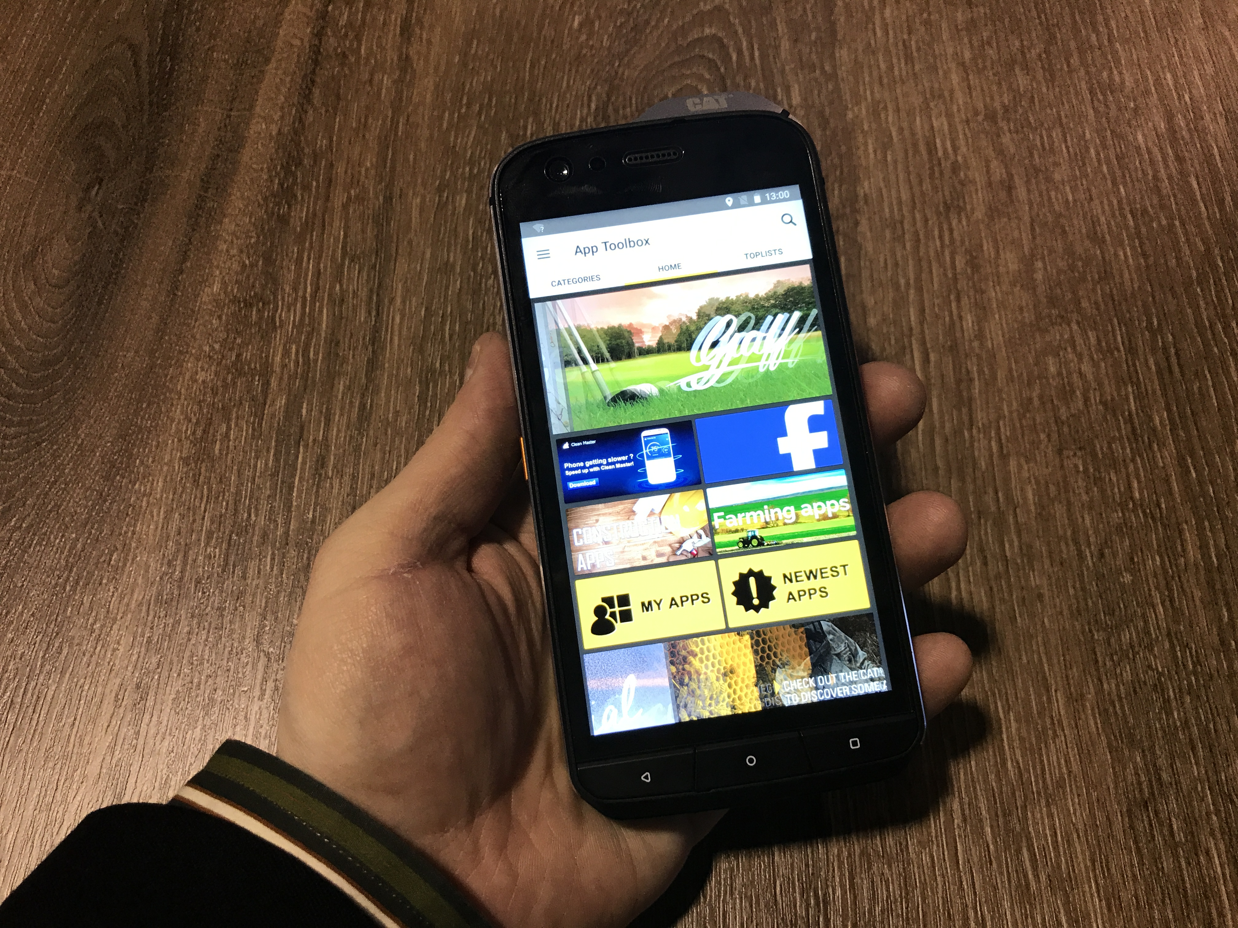 Cat S61 Smartphone Hands On First Impressions