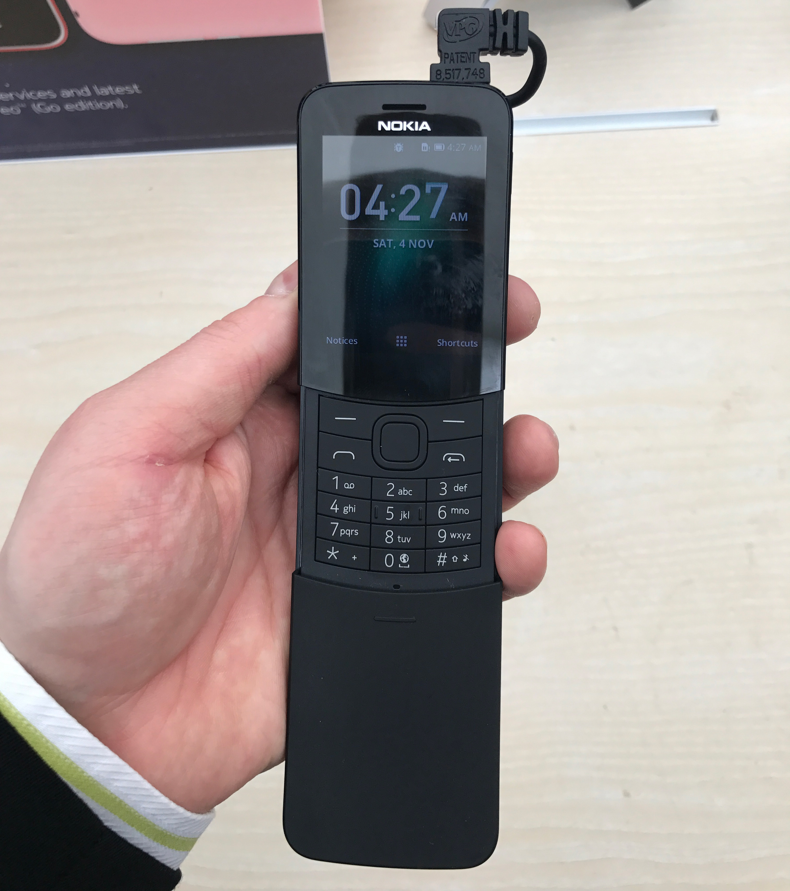 quality design 0534a 26335 The Nokia 8110 4G Hands-On: A Banana Phone for 2018