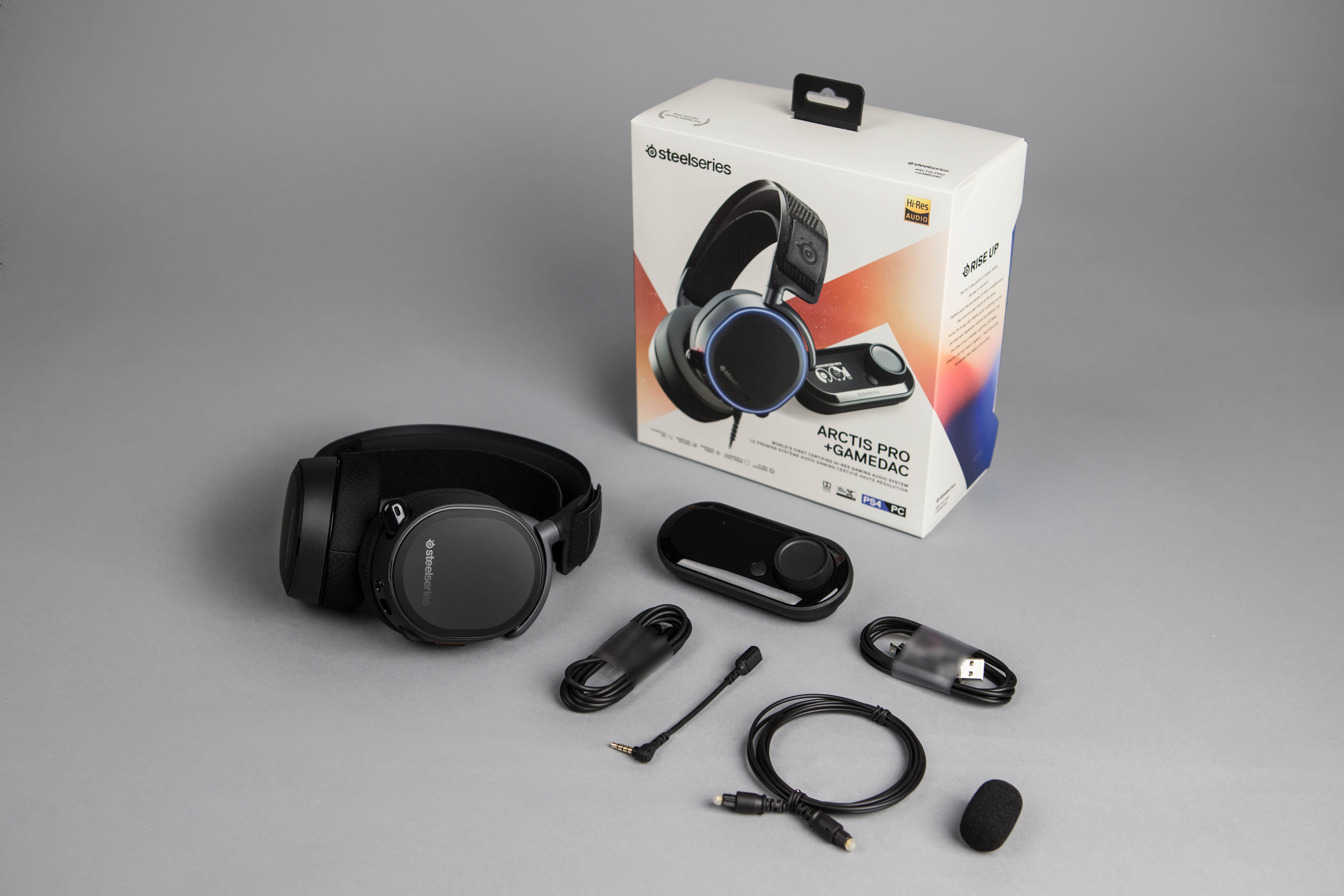 Arctis Pro Headset - The SteelSeries Arctis Pro Gaming