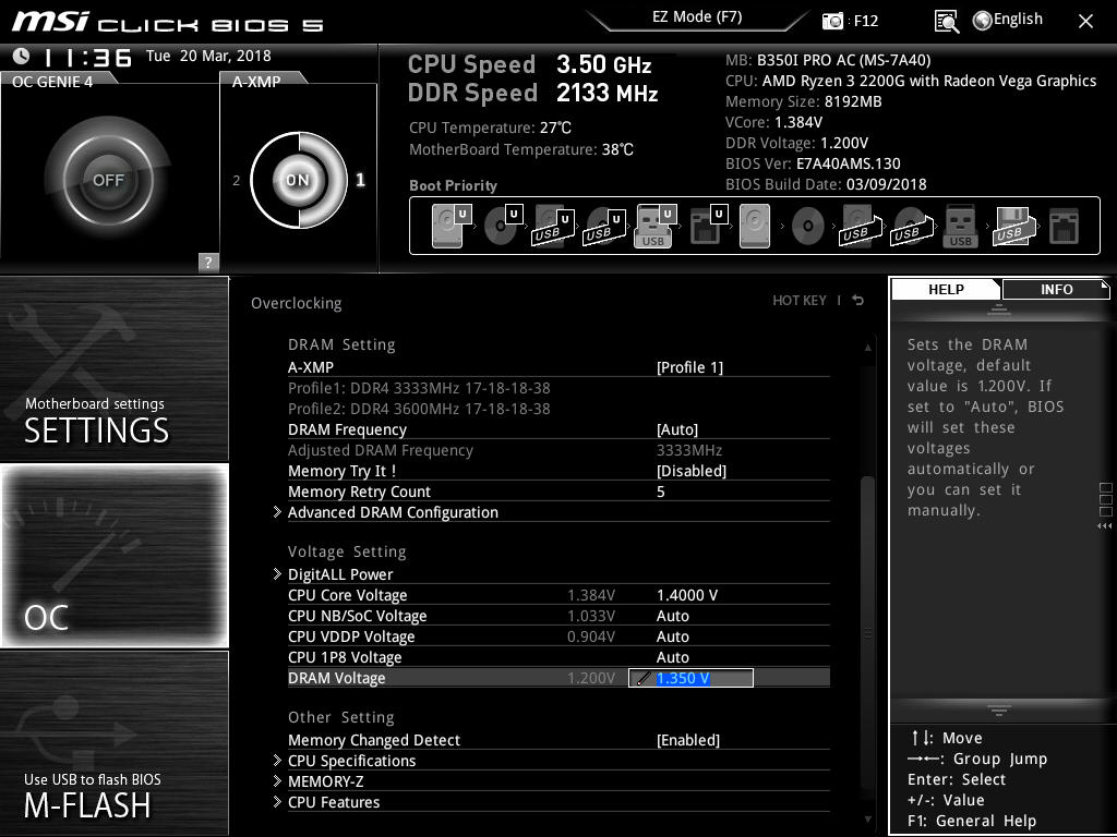 How to Overclock With MSI UEFI BIOS - Overclocking The AMD Ryzen