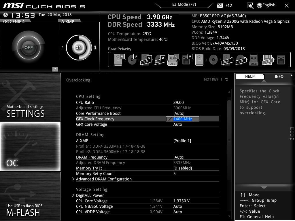 How to Overclock With MSI UEFI BIOS - Overclocking The AMD Ryzen