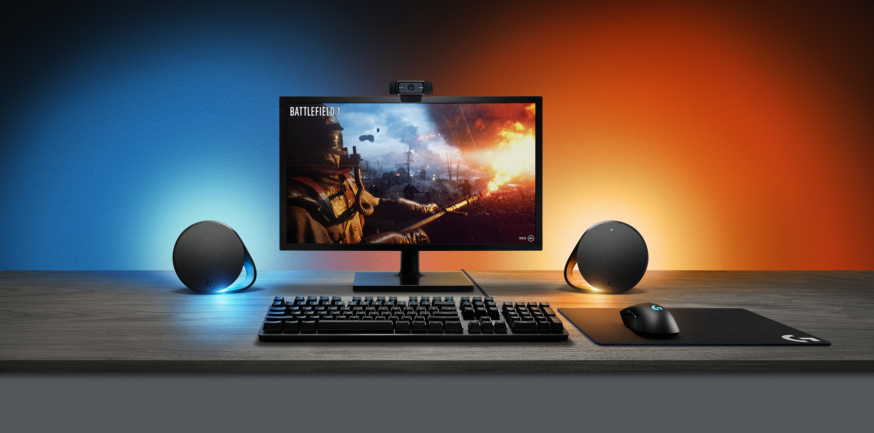 Logitech Unveils LightSync: Syncing RGB LEDs with G560 Speakers and