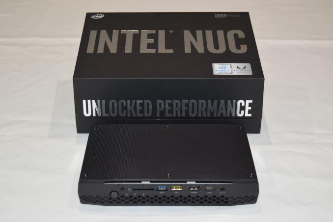 The Intel NUC8i7HVK (Hades Canyon) Review: Kaby Lake-G