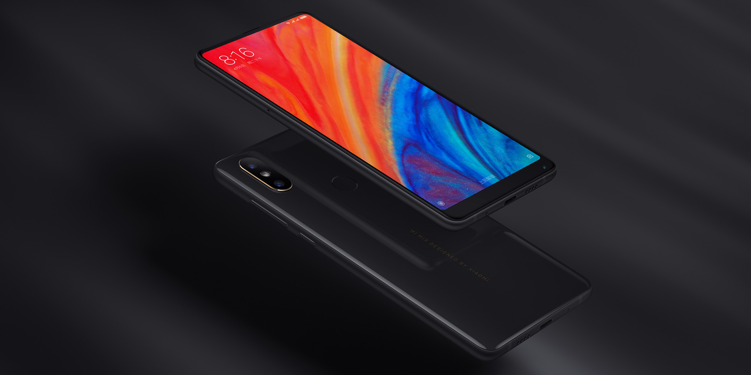 Xiaomi Announces Mi Mix 2s Snapdragon 845 And Dual Camera For Outside Of A Smaller Top Speaker Grille Accommodations The New Ceramic Encased Design Is Near Identical To 2