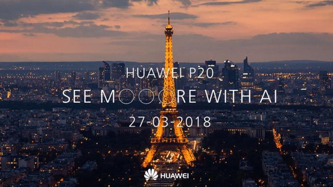 Live Blog: Huawei P20 & P20 Pro Announcement Event (3:00PM CEST)