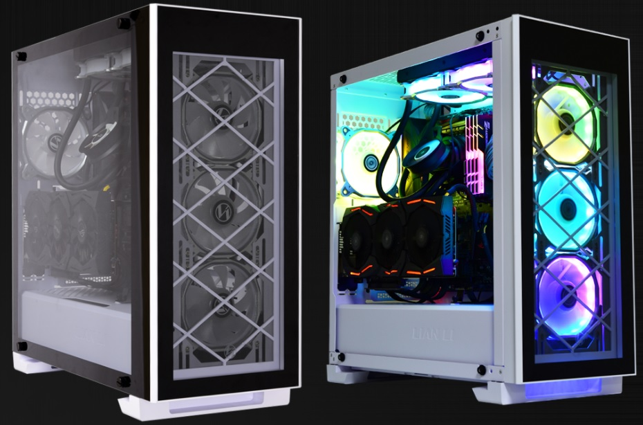 Glorious Glass: Lian Li Alpha Series Cases Now Available