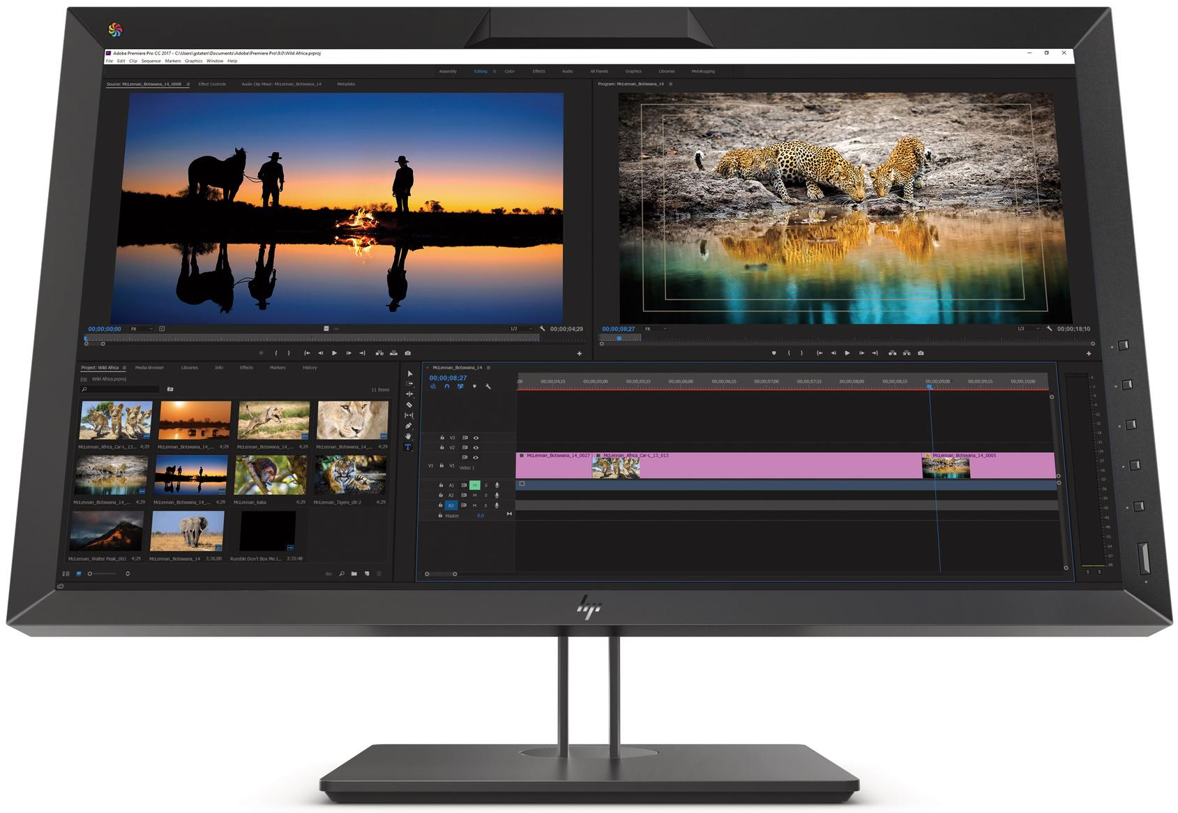 HP DreamColor Z27x G2 Display: QHD, DCI-P3, USB-C, KVM - HP Spring