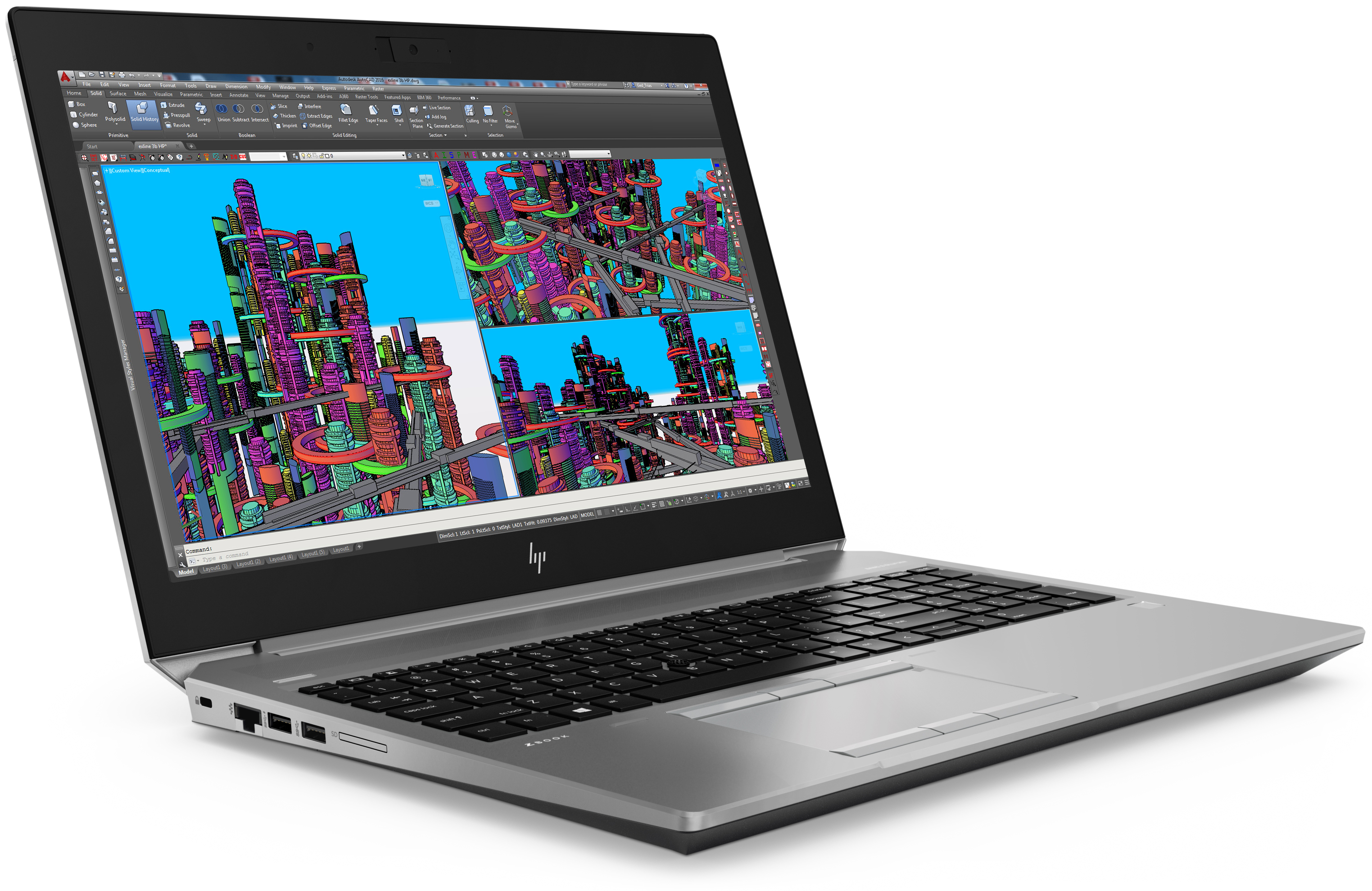 HP ZBook G5 Workstations: 15v, 15, and 17 - HP Spring 2018 Range