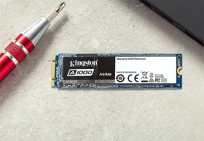 Kết quả hình ảnh cho Kingston A1000 SSD