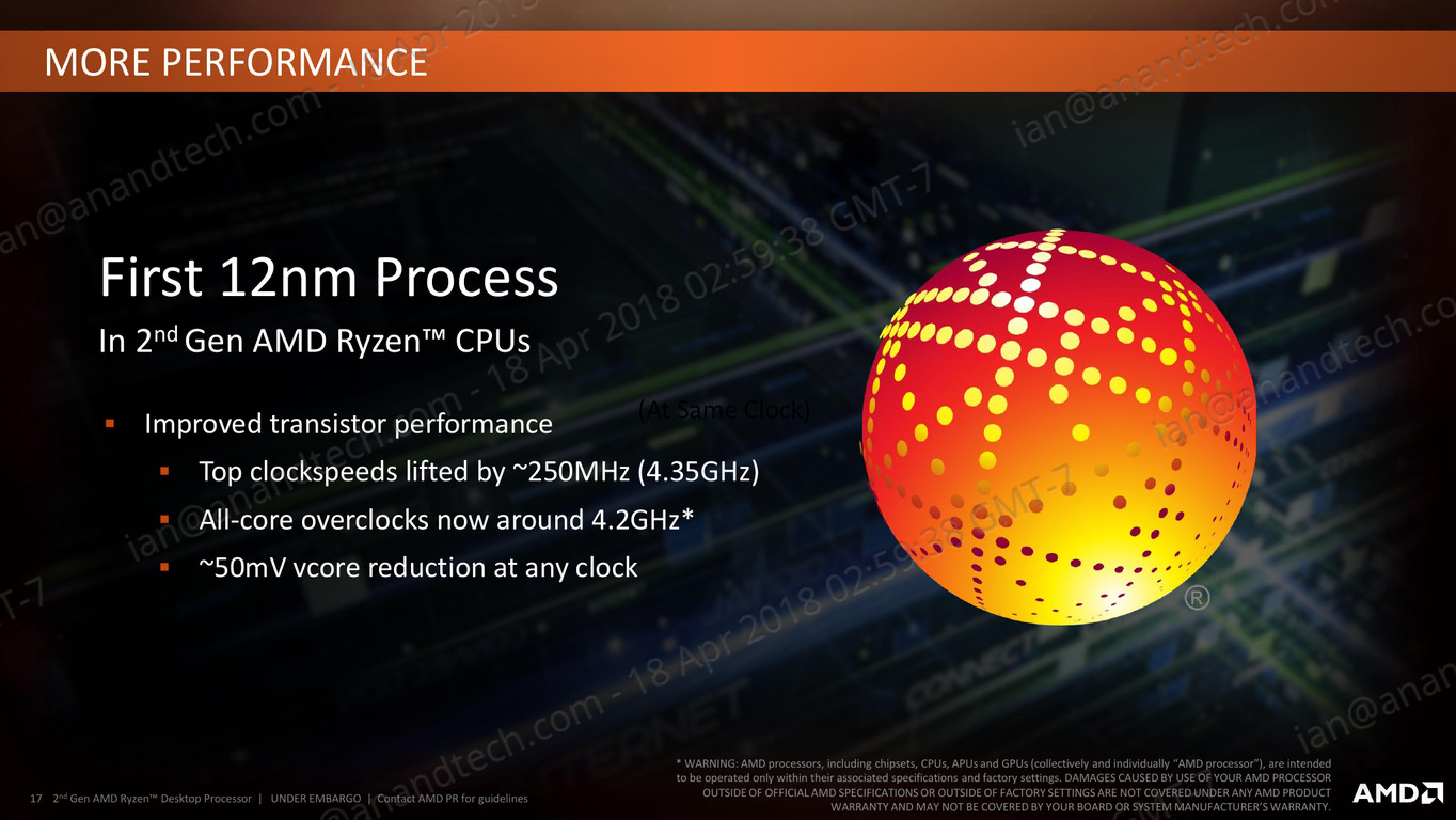 Talking 12nm and Zen+ - The AMD 2nd Gen Ryzen Deep Dive: The