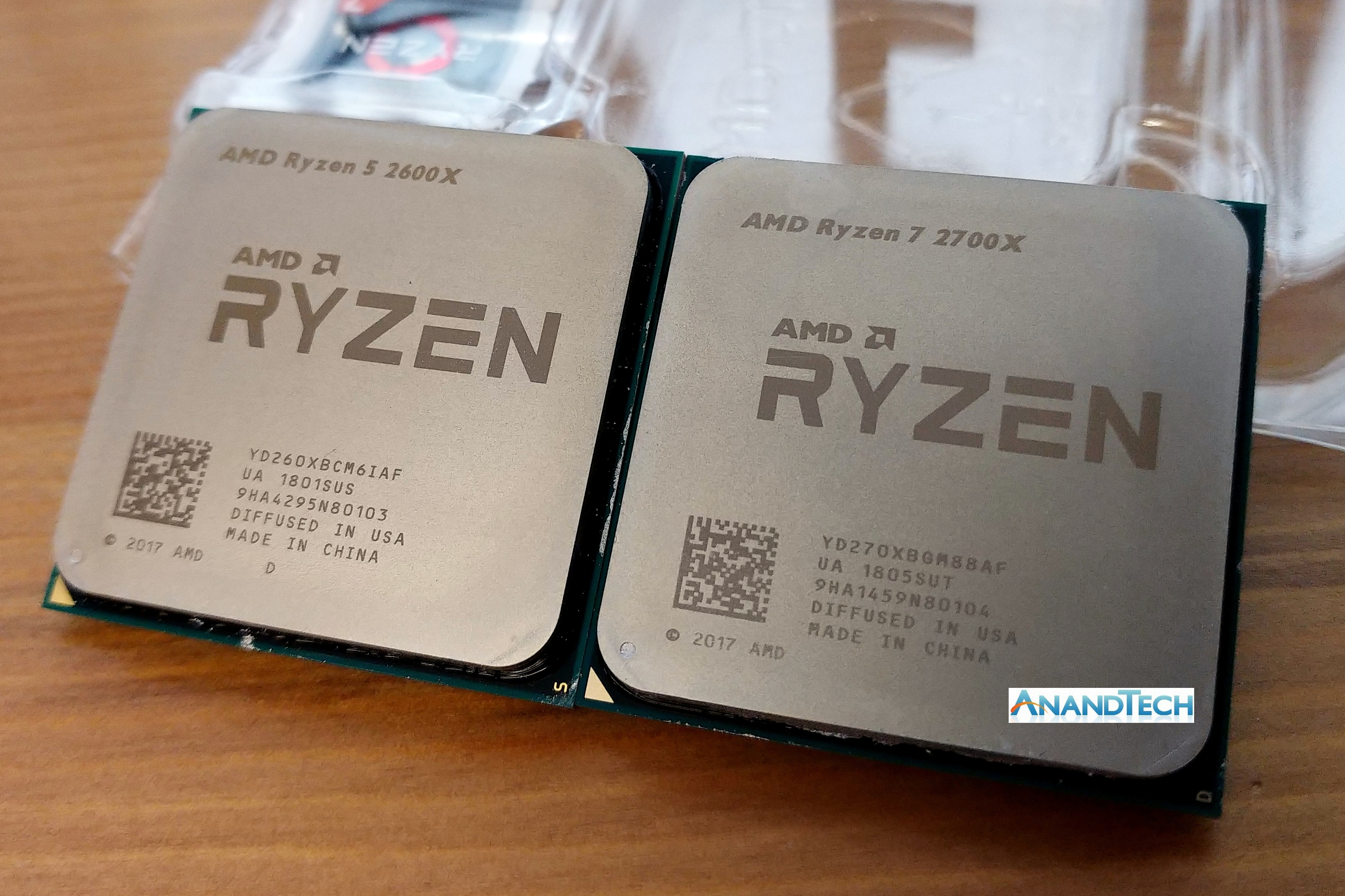 The AMD 2nd Gen Ryzen Deep Dive: The 2700X, 2700, 2600X, and 2600 Tested
