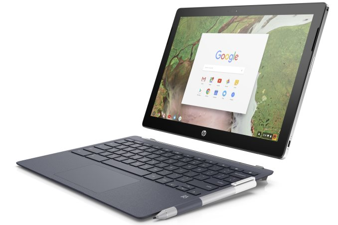 HP Intros $599 Chrome OS Tablet With Attachable Keyboard and Stylus Support