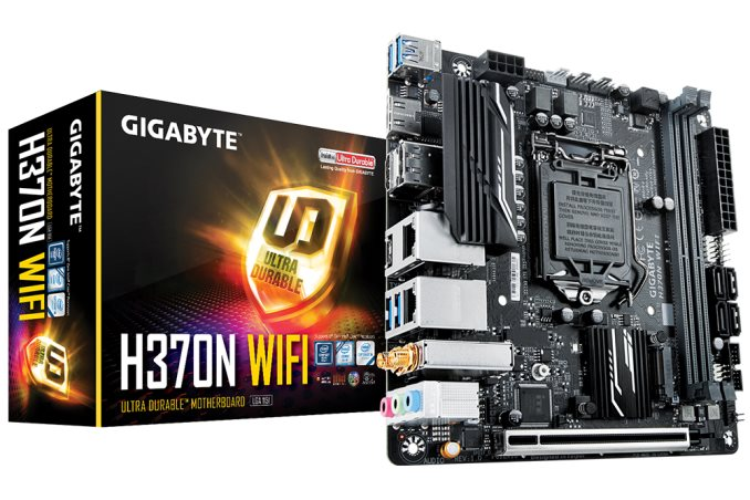 The GIGABYTE H370N WiFi Review: Mini-ITX with HDMI 2 0