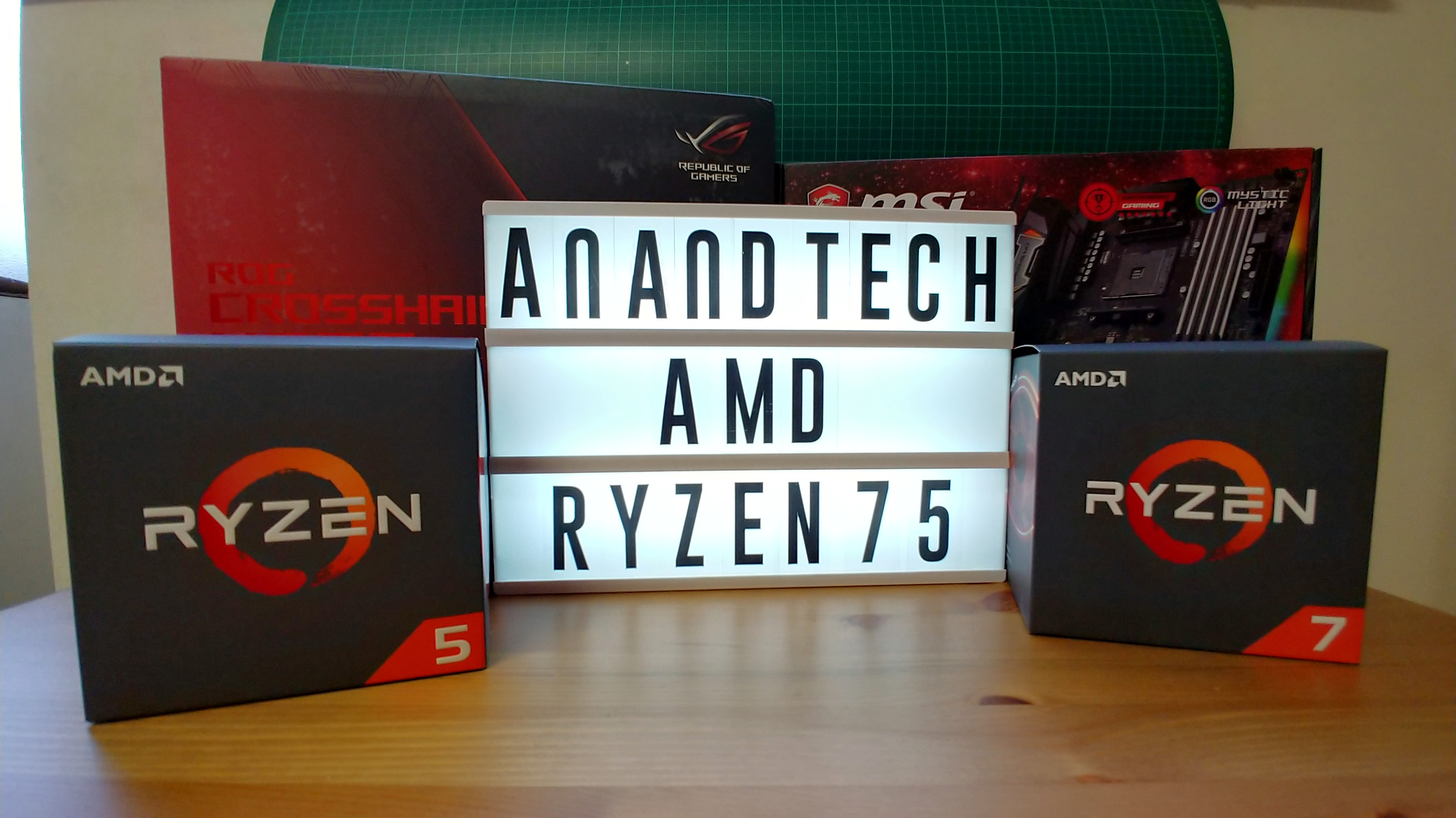 AMD Ryzen 2nd Gen Details: Four CPUs, Pre-Order Today
