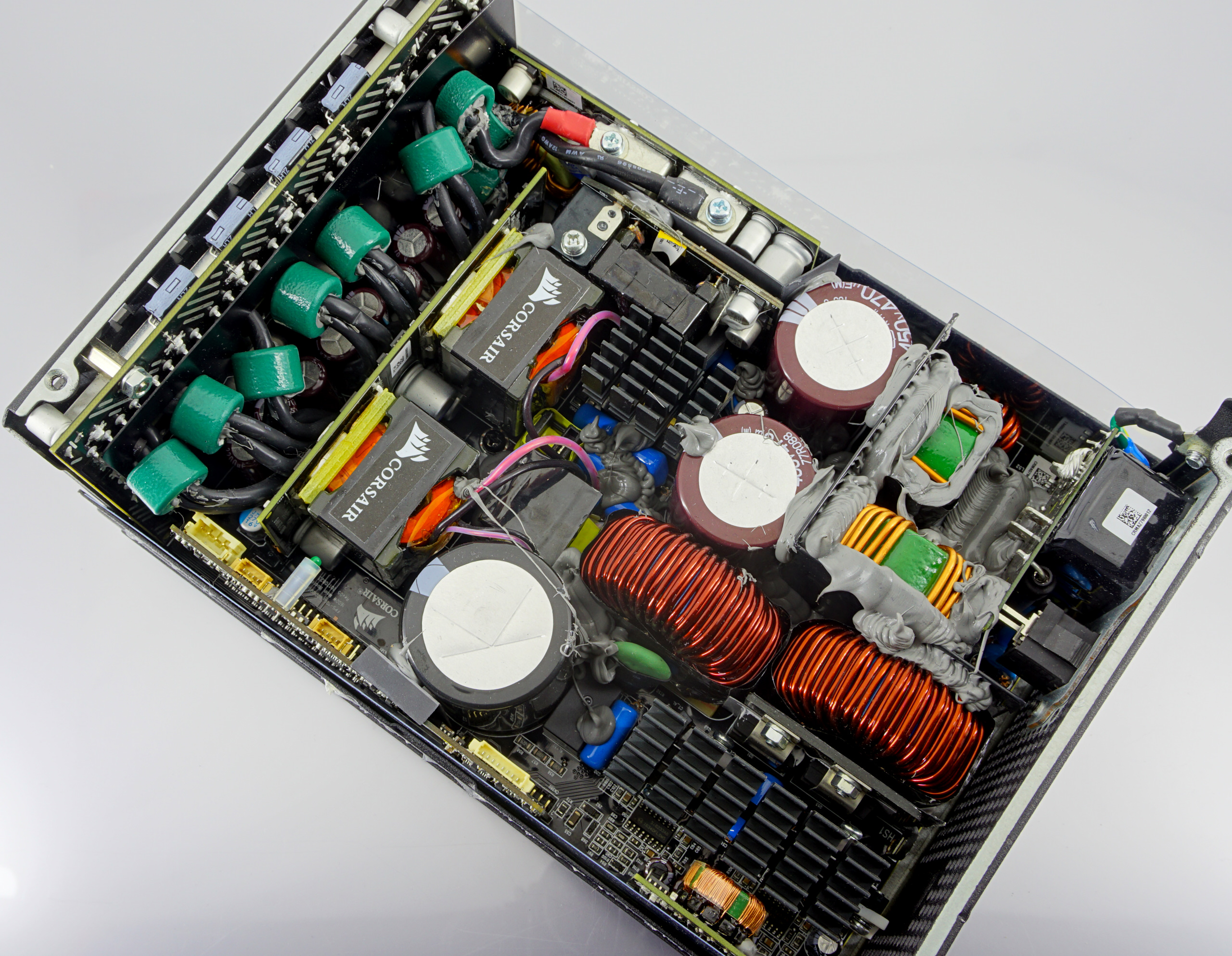 Dissecting The Corsair Ax1600i Psu The Emperor Of