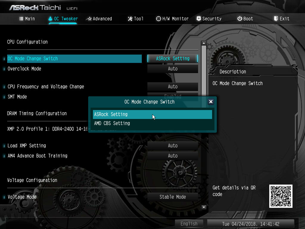 BIOS And Software - The ASRock X470 Taichi Ultimate