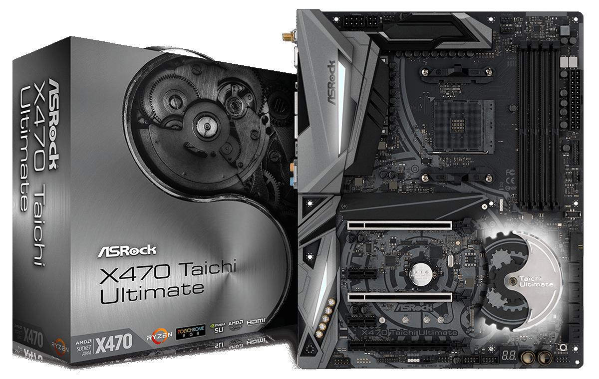 ASRock X470 Taichi Ultimate Conclusion - The ASRock X470