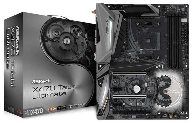 The Asrock X470 Taichi Ultimate Motherboard Review Aquantia 10gbe
