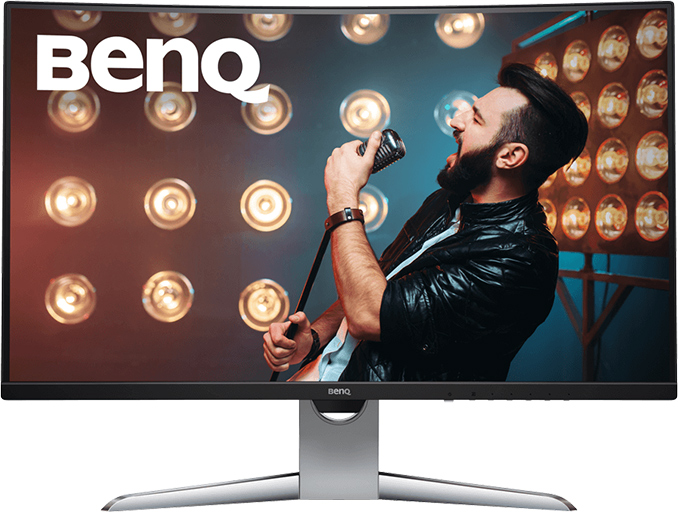 BenQ Unveils EX3203R 32-inch Curved LCD with FreeSync 2, DCI-P3, & USB-C