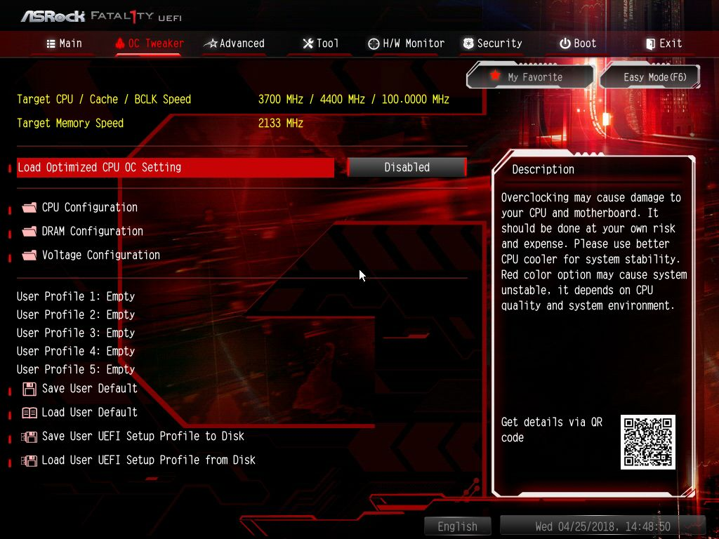BIOS and Software - The ASRock Z370 Gaming-ITX/ac Motherboard Review