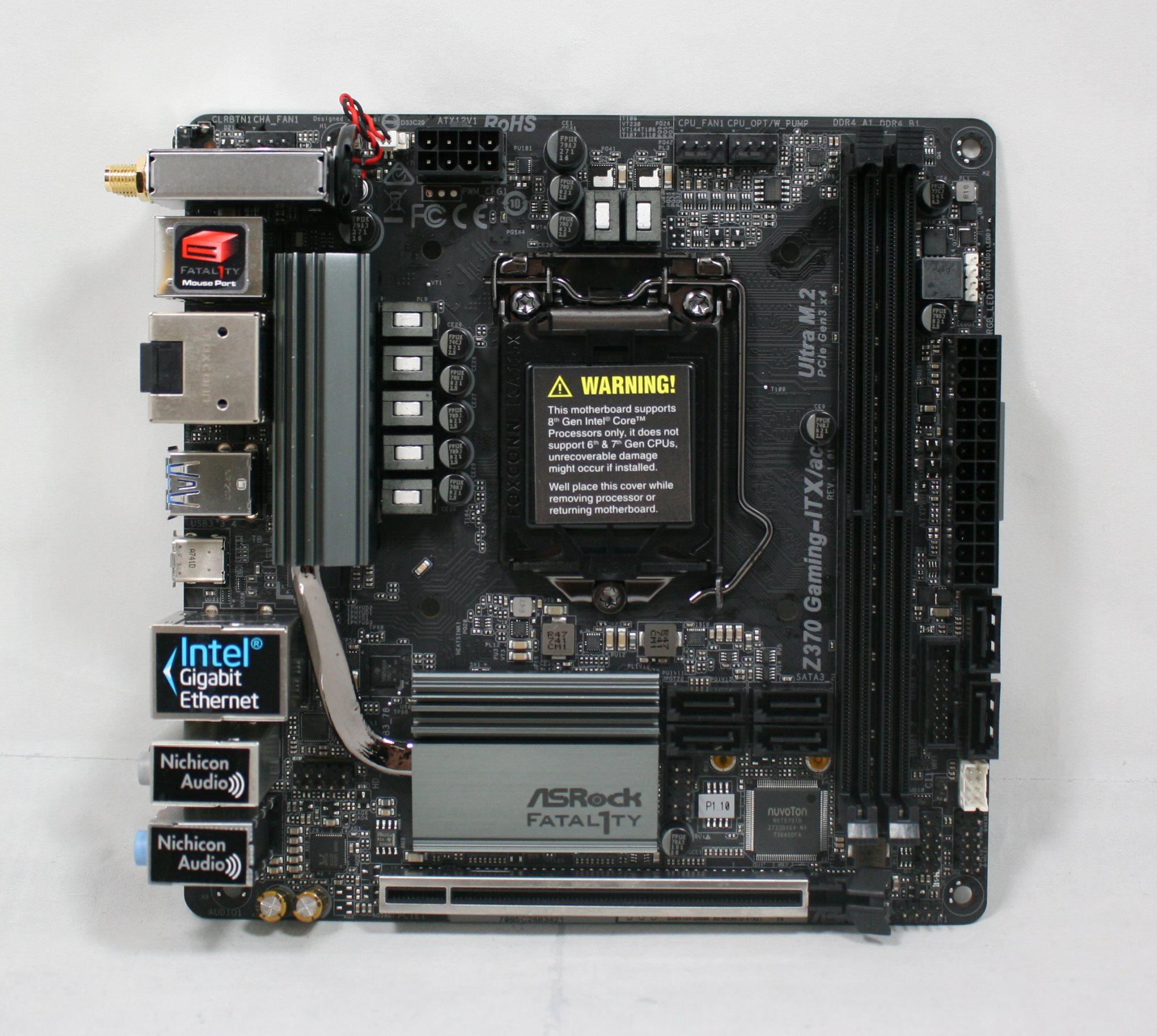ASRock H87M-ITX Intel Rapid Start 64Bit