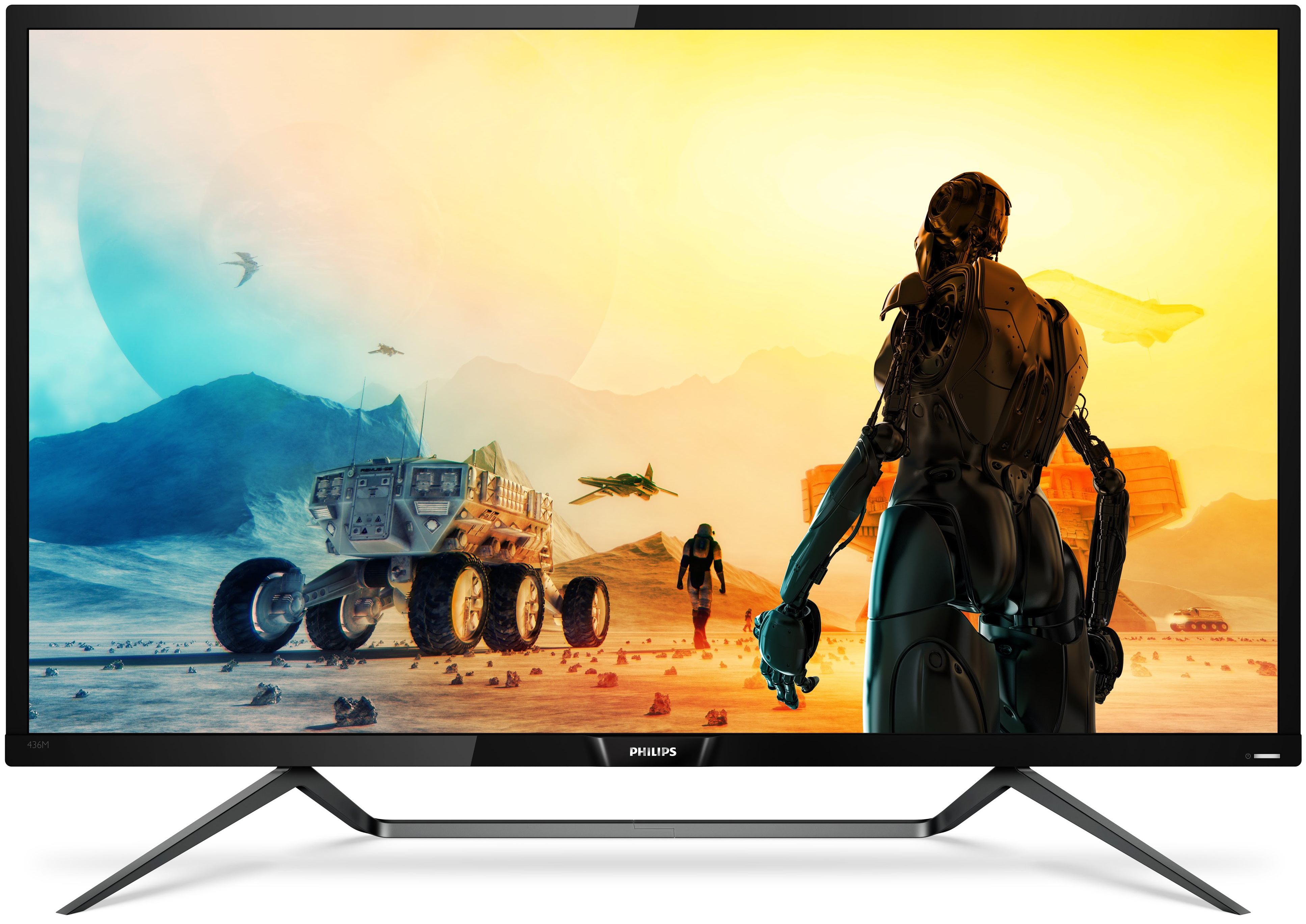 Philips Unveils 43-Inch 4K Gaming LCD with DisplayHDR 1000