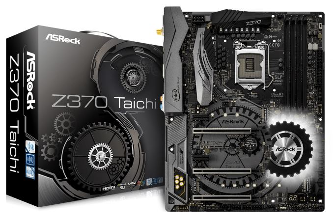 The ASRock Z370 Taichi Motherboard Review: Competitive at $220