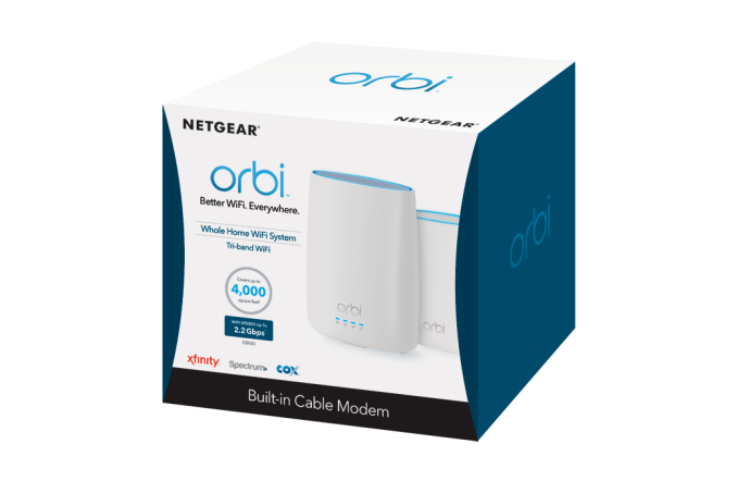 Netgear Launches the Cable Orbi - A Mesh Wi-Fi System with