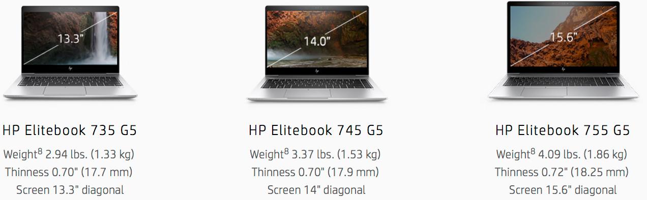 HP Unveils EliteBook 700 G5, ProBook 645 G4 Laptops with Ryzen PRO